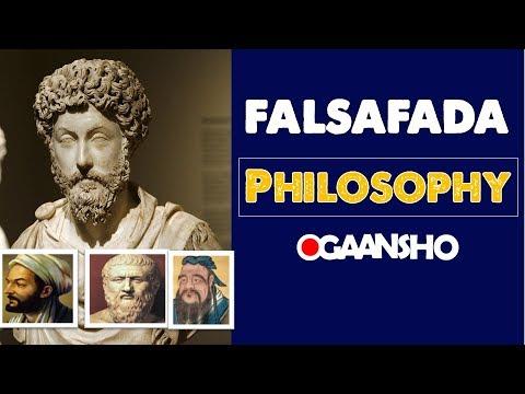 Falsafada | Philosophy | maxaa laga wadaa falsafo ?