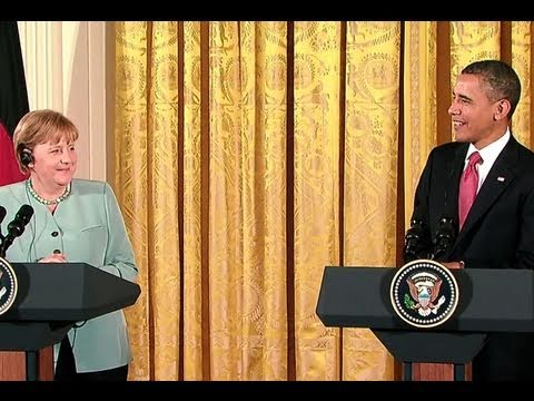 President Obama and Chancellor Merkel Press Conference