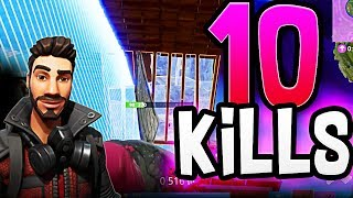 SHOOT THE FLOOR OUT! Fortnite Battle Royale Funny Victory!