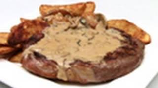 Porterhouse Steak With Mushroom Sauce Recipe