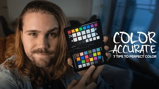 How to get COLOR ACCURATE photos! 7 tips to better-looking images