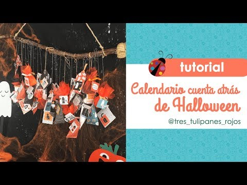 Calendario de Halloween con  Hey Pumpkin de Crate Paper