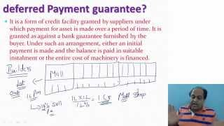 Deferred Payment Guarantee. Video Classes for CMA INTERMEDIATE Video Lectures of ACCOUNTS.