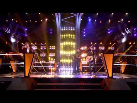 Christian Porter VS The Swon Brothers   I Won't Back Down  The Voice USA 2013