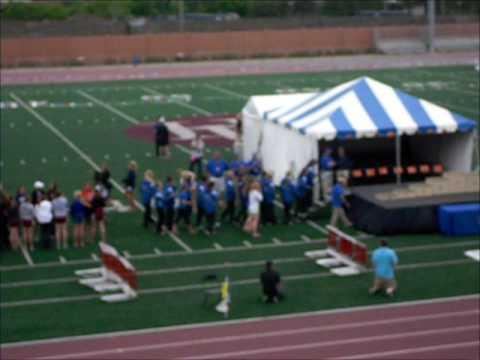 2013 MSHSL Class 2A Track & Field Championship Meet - Girls Team Awards Presentation