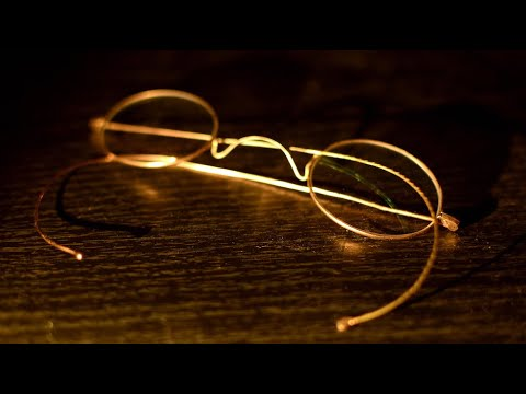 Repairing 120 year old Gold eye glasses with Silver Solder