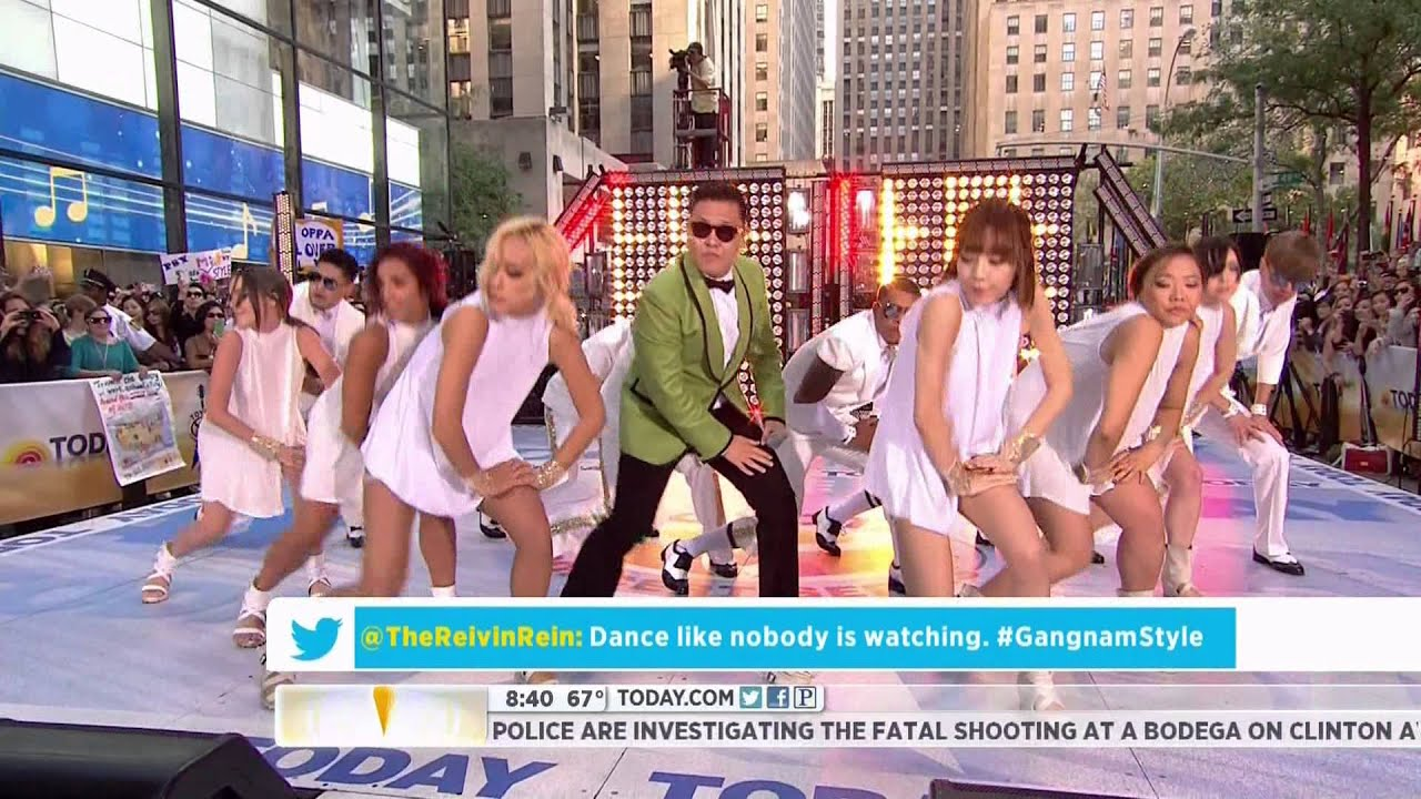 120914 - Psy (??????) - Gangnam Style (????⬓__??ۓ?_) @ Today Show [HD] [3D available]