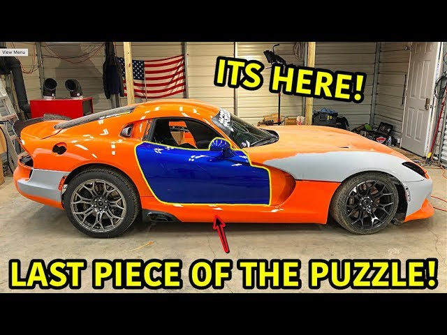 "Rebuilding A Wrecked 2014 Dodge Viper TA ""TIME ATTACK"" PART 12"
