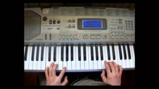 Твои карие глаза на пианано (обучение)