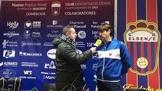 Declaraciones Entrenadores y Oscar Siafa C.D Eldense 3 - CF Torre Levante 1