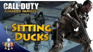Call of Duty Advanced Warfare - Sitting Ducks (Kill 3 enemies with one shot of the Sniper Drone)