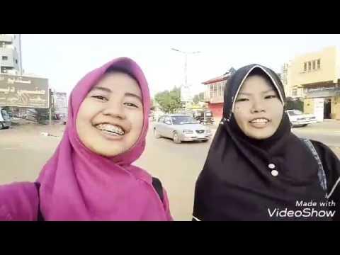 Hebohnya liburan di Sudan