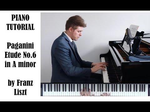 Liszt Paganini Etude No.6 In A Minor Tutorial - ProPractice By Josh Wright