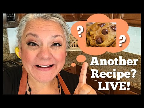 Super Easy Pumpkin Chocolate Chip Cookie Recipe | Only 3 Ingredients | Saturday LIVE!