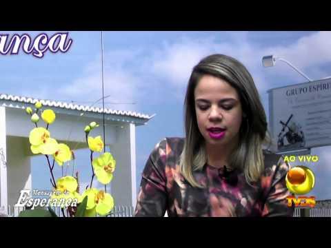 Mensagem de Esperança com Sara Samyris e Nelson Dantas 07082015
