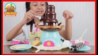 Mainan Chocolate Fountain With Party Platter - Make Your Own Chocolate Fountain So Fun And Delicious
