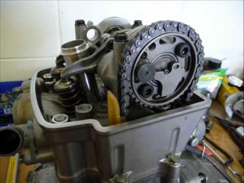 Honda Motorcycle Engine Rebuild Service