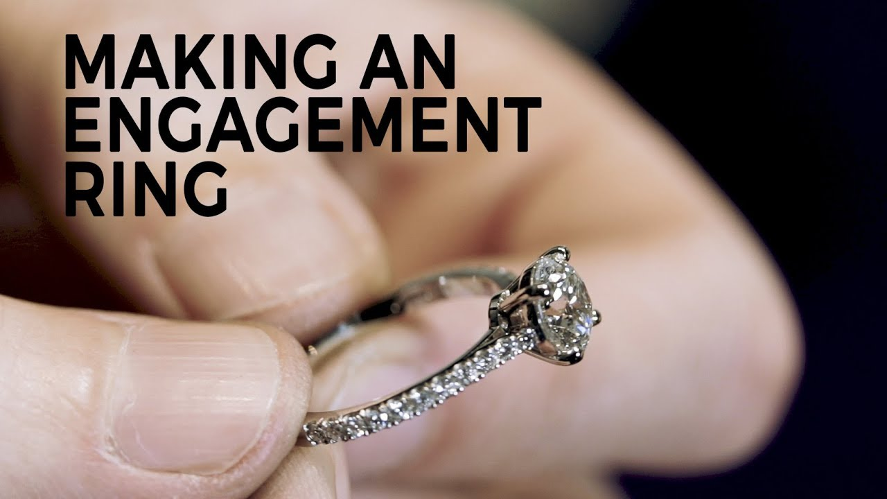 Making An Engagement Ring With Bobby White Youtube