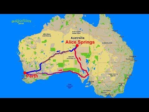 AUSTRALIA - Round Tour - Perth - Port Augusta - Alice Springs - Uluru - Olgas - Kalgoorlie – Perth