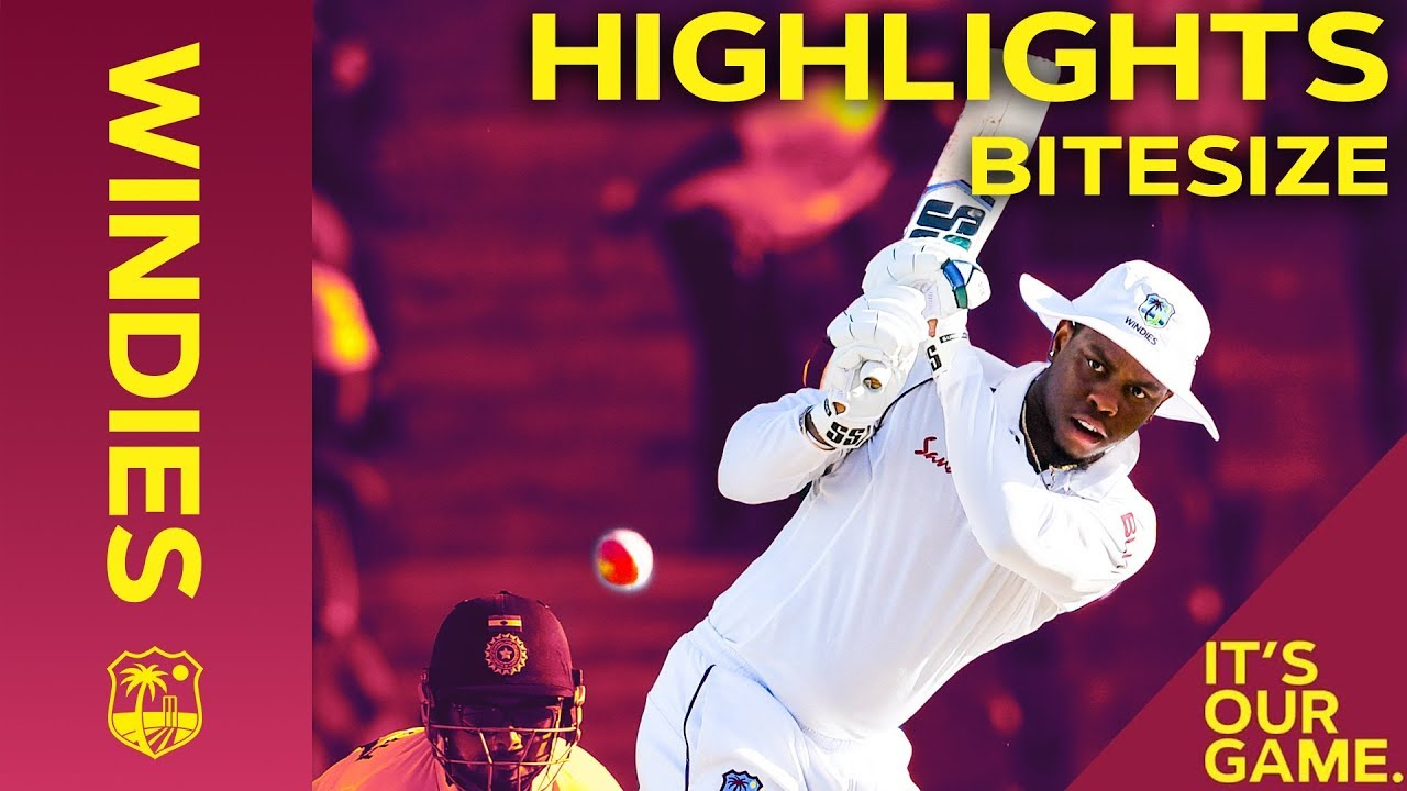 Windies vs India 1st Test Day 2 2019 | Bitesize Highlights