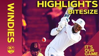 Windies vs India 1st Test Day 2 2019 | Bitesize Highlights