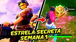 STAR SECRET SEASON 9 WEEK 1-Fortnite Battle Royale