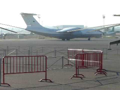 Libyan Air Cargo Ilyushin-76 taxiing at Mitiga