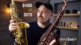 Cheapest Sax on Amazon VS My Professional Alto Saxophone
