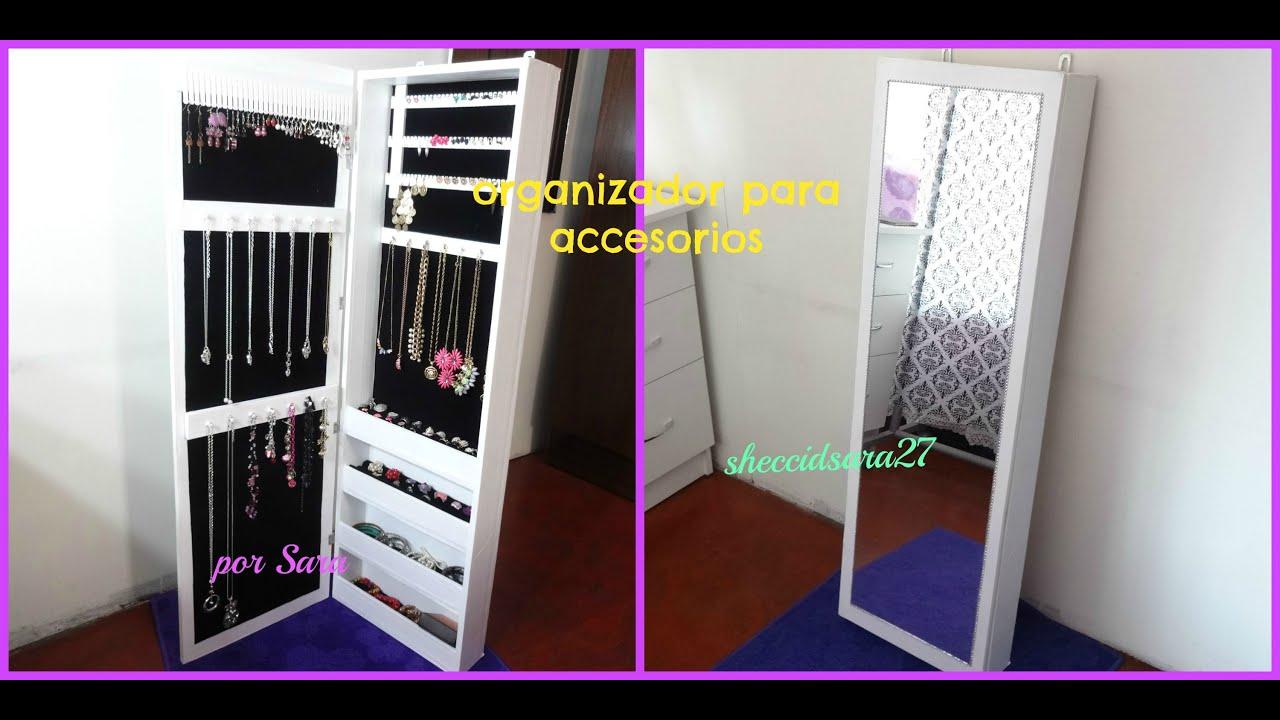 Diy Organizador De Cart 243 N Para Accesorios Tipo Ikea Youtube