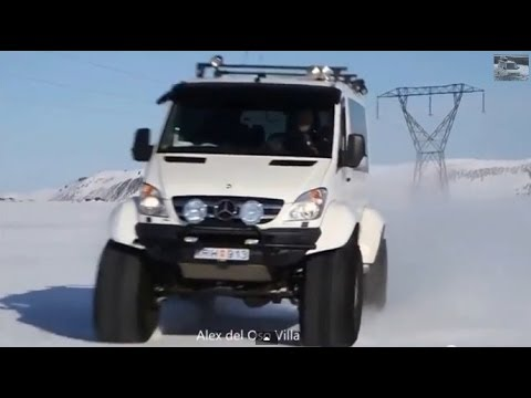 mercedes sprinter 4x4 iceland offroad youtube. Black Bedroom Furniture Sets. Home Design Ideas