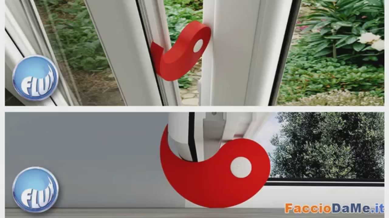 Fermaporte flux la soluzione per bloccare fermare porte e - Ferma finestra ikea ...