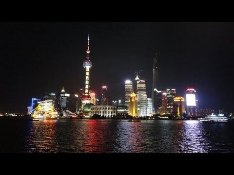 Shanghai night - Bund ,Pudong ,Nanjing Road