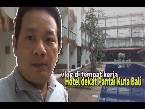Hotel Dekat Pantai Kuta Bali #vlogkerjadihotel