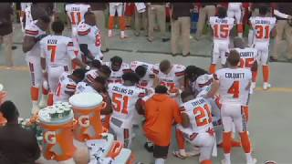 Browns Players Protest During National Anthem In Game Against Giants