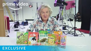 James May Japanese Snack Tasting | Our Man In Japan | Prime Video