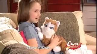 Интерактивная игрушка КОШКА ЧЕРРИ Emotion Pets.mp4
