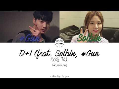 디아이 (D+I) - Body Talk (feat. 솔빈 Solbin, 샵건 #Gun) [Han|Rom|Eng]
