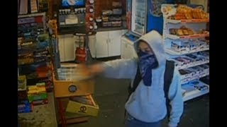 11-year-old robber caught on camera