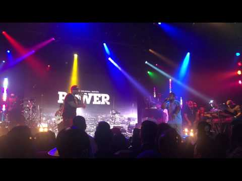 "50 Cent and Troy Ave Perform ""Doo Doo"" at 'Power' Concert"