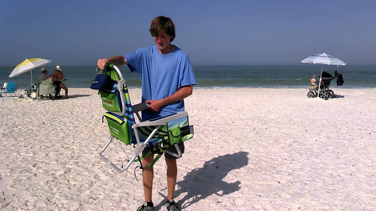 How To Close A Tommy Bahama Beach Chair You