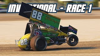 iRacing: AUS vs NZ Dirt Invitational - Race 1 (410 Sprintcar @ Limaland)