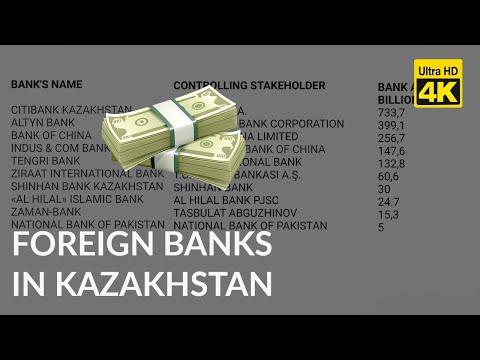 FOREIGN BANKS IN KAZAKHSTAN /  ИНОСТРАННЫЕ БАНКИ В КАЗАХСТАНЕ