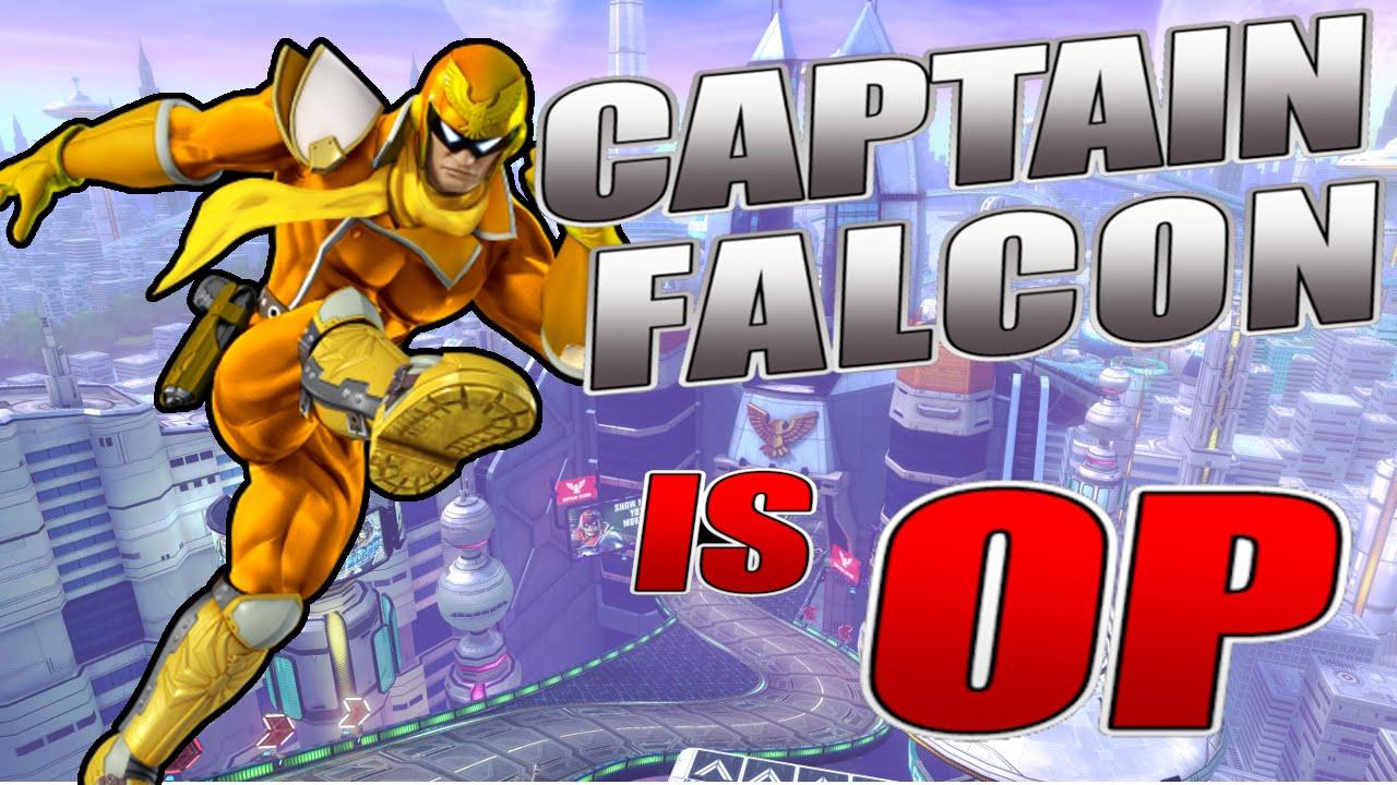 Captain Falcon is OP - Smash Bros. Wii U Montage