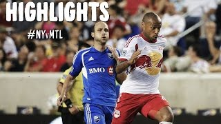HIGHLIGHTS: New York Red Bulls vs Montreal Impact | August 23rd, 2014