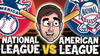 AMERICAN LEAGUE vs. NATIONAL LEAGUE | Bad British Commentary