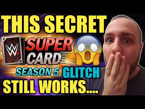 THIS SECRET WWE SUPERCARD GLITCH STILL WORKS IN S5? TIPS & TRICKS PLUS NEON PLATINUM PACK AND MORE!