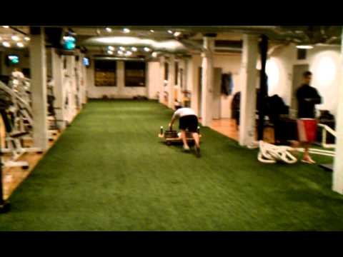 "Baseball Training Chicago, Matt Ramirez dominates the ""TANK"" at Winning Edge Athletics"