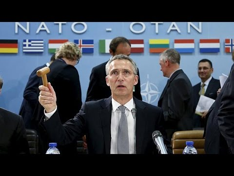 Watch live: Nato chief Jens Stoltenberg addresses media