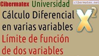 Límite de una función de dos variables