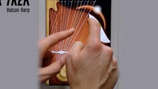 Star Trek Vulcan Harp - Features